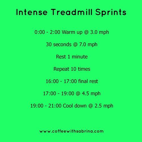 Intense Sprints